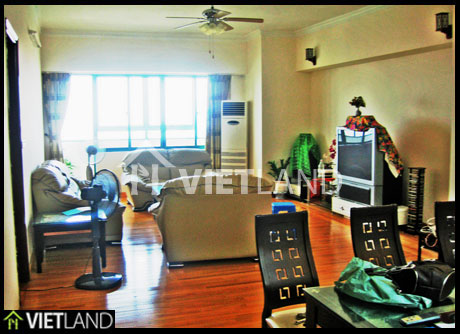 Spacious flat with lakeview to rent in Ba Dinh district, Ha Noi