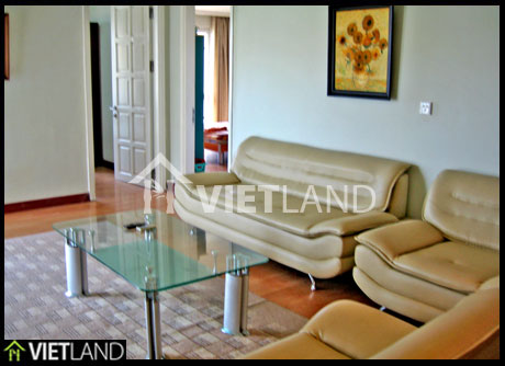 Furnished apartment for rent in Ciputra, Ha Noi