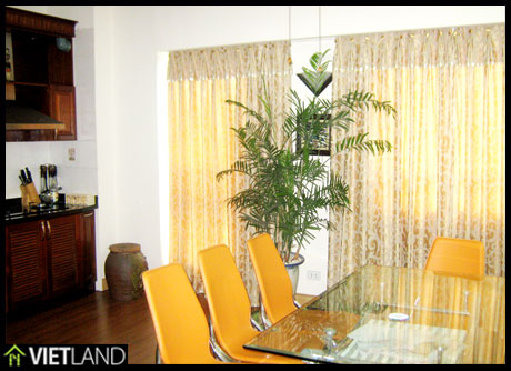 Apartment for rent in 671 Building Hoang Hoa Tham Str, Ha Noi