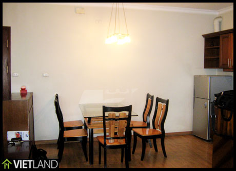 Apartment for rent in Building 27 Huynh Thuc Khang Str, Dong Da Dist, Ha Noi