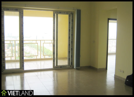 A Lake view, high floor, city view, brand new apartment for rent in Ha Noi Building 172 Ngọc Khánh