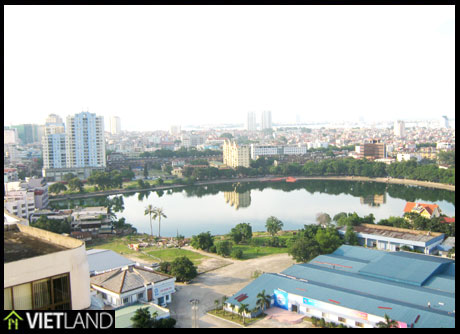 Lake View apartment for rent in Artex Building 172 Ngoc Khanh Str, Ba Dinh Dist, Ha Noi