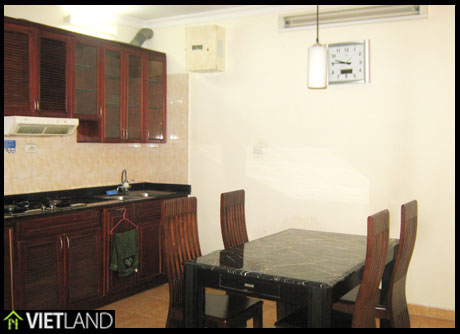 Apartment for rent in Ha Noi Building 27 Huynh Thuc Khang, 3 beds