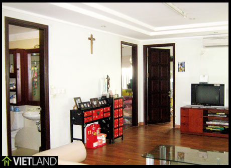 An apartment for rent in Ciputra, Ha Noi, 3 beds, full furnished