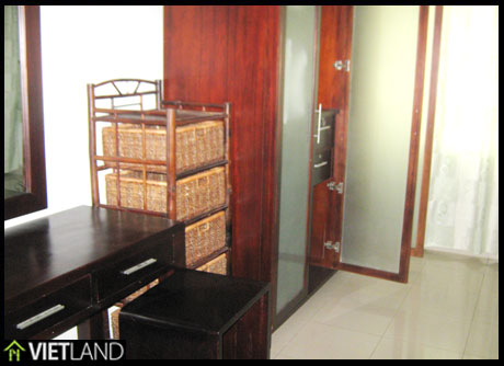 146-m2 apartment for rent in Ciputra, Ha Noi, 3 beds, full furnished