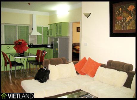 3-bedroom apartment for rent in Ha Noi, facing to Ngoc Khanh Lake