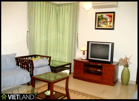 Fully furnished apartment for rent in Ciputra, Ha Noi, 3 beds