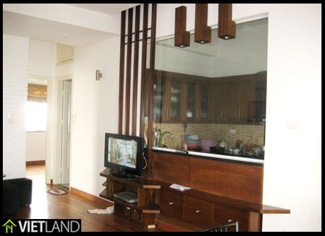 Cozy apartment for rent in Building 299 Cau Giay Road, Cau Giay district, Ha Noi