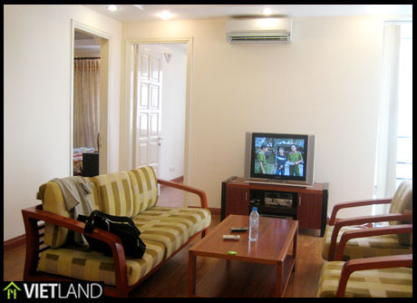 150-SQM large 3 beds, fully furnished apartment for rent in Ciputra, Ha Noi