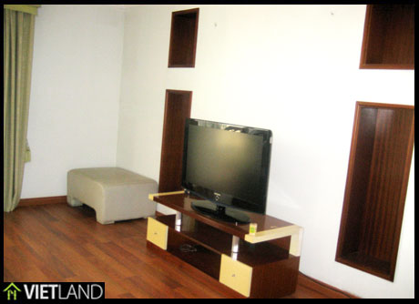 150-SQM large apartment for rent in Ciputra, Ha Noi, 3 beds, full furnished