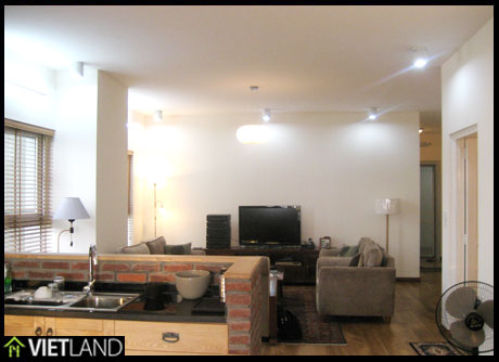 Newly refurbished apartment for rent in Ha Noi, 1 km walk to VinCom Tower