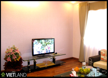 Lake view serviced apartment with 2 bedrooms for rent in Ba Dinh District Ha Noi