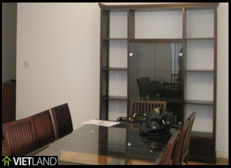 Nice apartment with 3 bedrooms viewing to WestLake for rent in Ciputra, Ha Noi