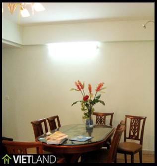 3-bedroom apartment in Building G03 Ciputra for rent in Ha Noi