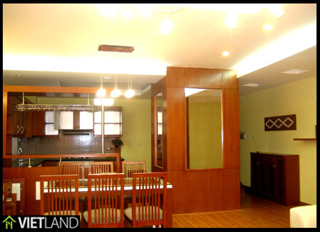 3-bedroom apartment, brand new for rent in M5 Building, Dong Da District, Ha Noi