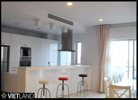 Brand new apartment for rent in Building Golden Westlake, Westlake area of Ha Noi