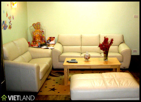 2 bedroom apartment with brand new furniture for rent, Ba Dinh district