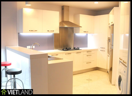 Brand new apartment for rent with 2 beds in Building Golden Westlake, Westlake area of Ha Noi