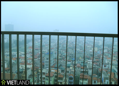 Brand new and full furnished apartment for rent in SkyCity in Dong Da district