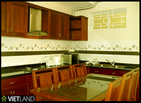 Apartment with full furnishing for rent in Kinh Do building, Hai Ba district