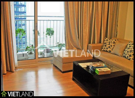Apartment in KeangNam Towers with 3 bedrooms for rent in Ha Noi