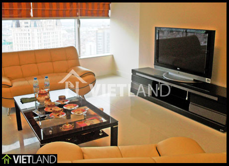 Spacious apartment with 4 bedrooms for rent in in KeangNam Towers, Ha Noi