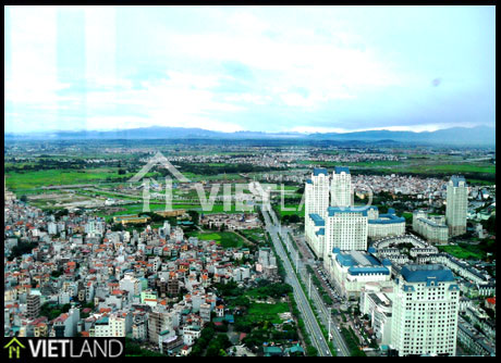 126m2 large flat for rent in Keang Nam Tower, Ha Noi