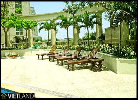 Apartment for rent in The Garden Me Tri Road, Tu Liem district, Ha Noi
