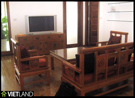 3-bedroom apartment for rent in Kinh Do Building, 15 minutes' walk to the downtown