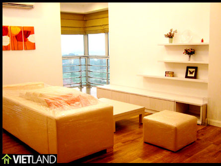 Fully furnished apartment for rent in E1 Block Ciputra, Tay Ho district