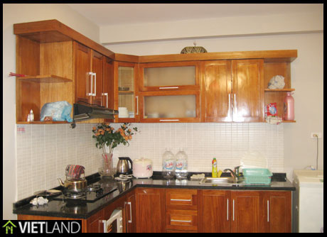 2-bed apartment for rent in Ha Noi, Dong Da District