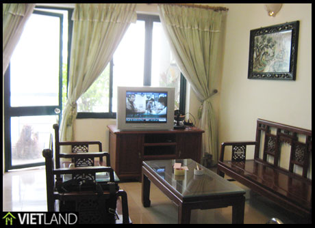 SkyCity Building in Ha Noi: Luxurious apartment with nature wood furniture, plasma TV ….