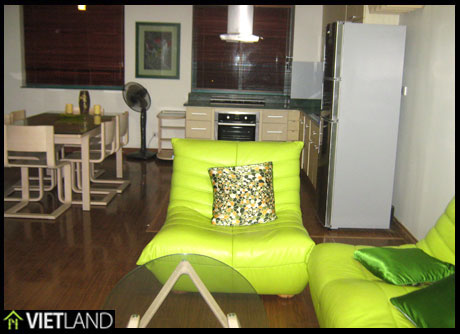 Green apartment with 2 beds and fully furnished for rent