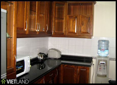 Apartment with 3 bedrooms for rent in Ciputra, Ha Noi