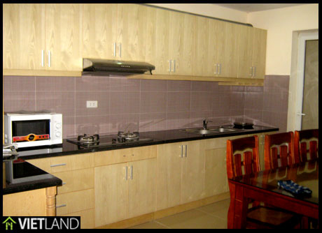 Brand new apartment with 3 bedrooms for rent close to Big C Ha Noi