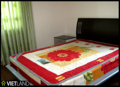 High floor apartment for rent in Ba Dinh District, close to West Lake