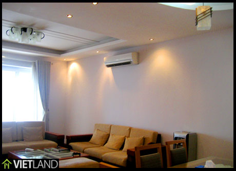 Apartment with lakeview to rent in Artex Building, Ha Noi
