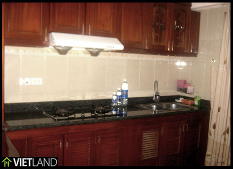 An apartment with 2 bedrooms for rent in Ba Dinh District, Ha Noi
