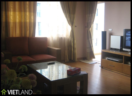 A 3-bed apartment for rent in Ha Noi Building Artex 172 Ngoc Khanh