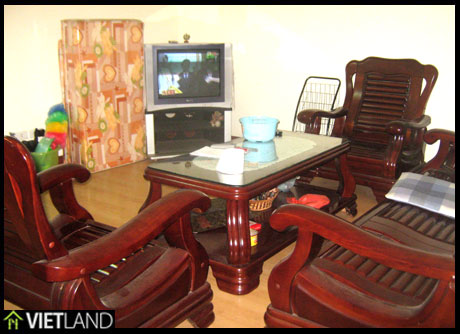 Apartment with 2 bedrooms in Block 18T2 – Trung Hoa-Nhan Chinh for rent in Ha Noi now