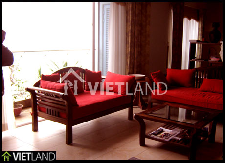 1 bedroom apartment with lake view for rent in Golden Westlake, Ha Noi