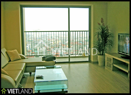 SkyCity Building in Dong Da District, Ha Noi: apartment for rent with nice furniture and 2 bedrooms