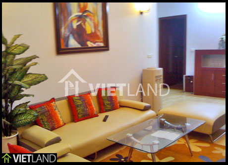 Apartment for rent in Building 71 Nguyen Chi Thanh, Ba Dinh district, Ha Noi