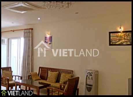 Apartment for rent in Building M5 Nguyen Chi Thanh street, Dong Da district, Ha Noi