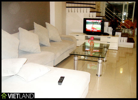 New private house with full furnished, expats neighborhood, good security, reasonable price for rent