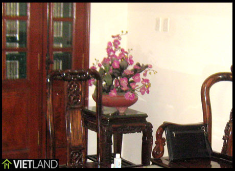 Furnished house for rent on Kim Ma street, very close to Swedish Embassy, Ha Noi