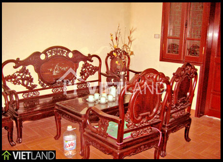 Traditional furnished house for rent in Truc Bach area, Ba Dinh district
