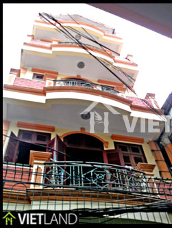 Big house with 4 bedrooms for rent in Ba Dinh district, Ha Noi