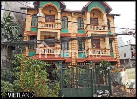 Fully furnished house for rent in Dao Tan street, Ba Dinh district, Ha Noi