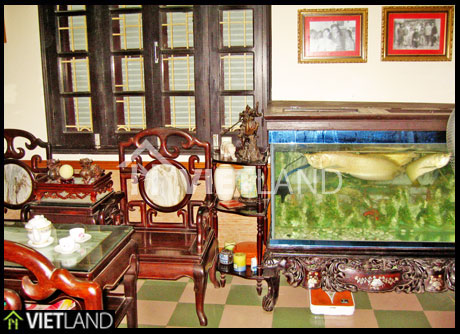 House with traditional furnished style for rent in Hoang Mai, Ha Noi